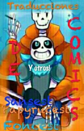 (Undertale)Traducciones De Comics Foncest by Stingray-In-The-Head