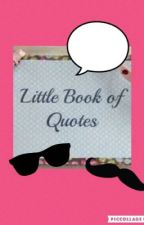 Little books of quotes by keeferhe