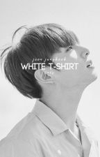 White T-Shirt » Jeon Jungkook by snowflakesonmylaptop