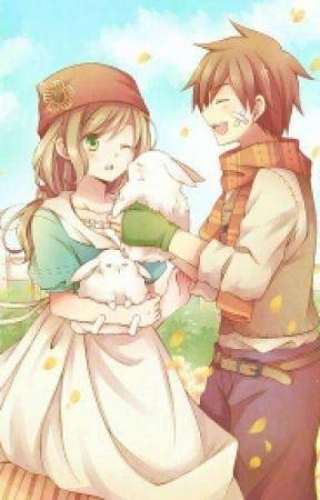 Half Filled Love (Harvest Moon Story Of Seasons Fritz X MC Fanfic) by Aria-Risu