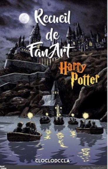 Recueil de fan art Harry Potter