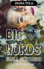 Big Words Small Gestures by dianadallafina