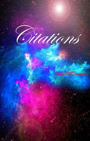 Citations by 1life100dreams