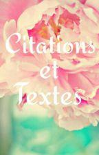 Citations Et Textes by Evanna26