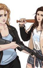 Alicia Clark y Elyza Lex by Wanheda77