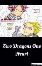 Two dragons one heart ( a Lucy X Sting X Natsu fanfic) by laloba03