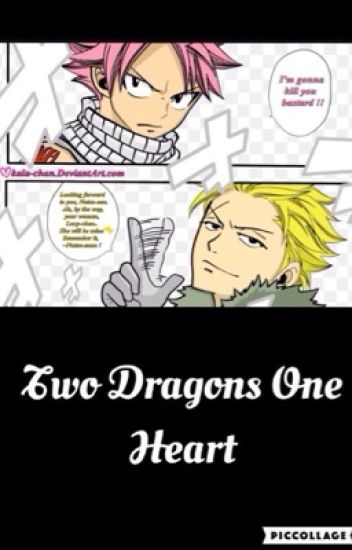 Two dragons one heart ( a Lucy X Sting X Natsu fanfic