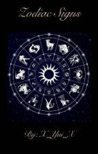 Zodiac Signs by X_Yui_X