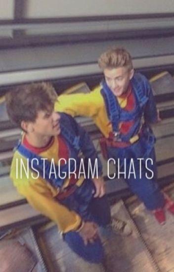 Instagram chats || boyxboy Jolinsky + Skammy ||