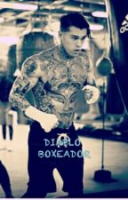 El Diablo Boxeador by GimenaOspina