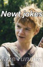 Newt Jokes (Mazerunner) by mazerunnerglader