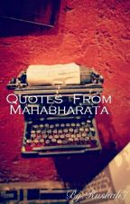 Quotes From Mahabharata by Rushali7