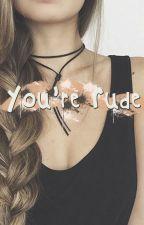 You're Rude [ COMPLETED ] by NurAinunIrwan