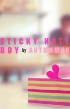 Sticky Note Boy by Autummnn_