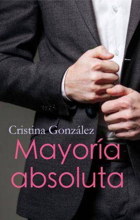 Mayoría absoluta/ Cristina González 2016/ También disponible en Amazon. by aleianwow