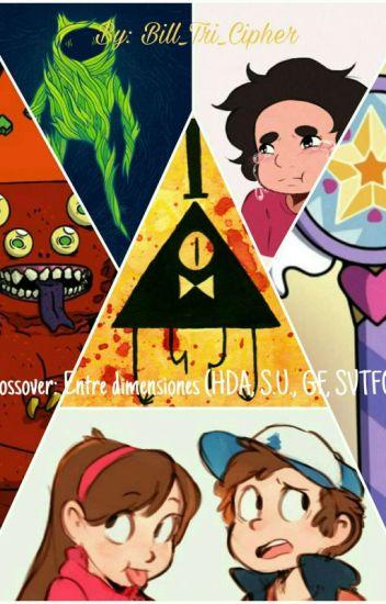 Crossover:Hora de aventuras/Steven Universe/Gravity falls/Star vs forces of evil