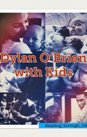 Dylan O'brien with Kids by reading_through_life