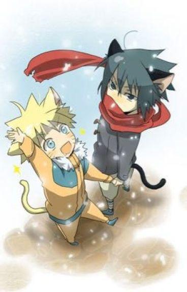 May I? (Sasunaru) (Neko!Sasuke x Neko!Naruto) (Neko!!!!!!!)