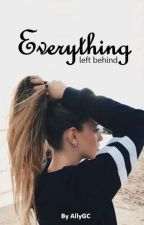 Everything left behind by AllyGC