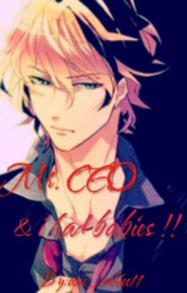 Mr. CEO & I had a BABBIES ! (Mpreg)