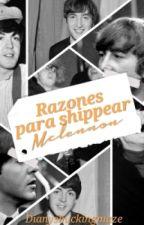 Razones para shippear Mclennon ✨  by Dianyshuckingmaze