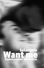 Want me x Solangelo by NightmareNina