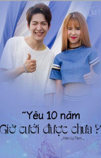 """""""YÊU 10 NĂM. GIỜ CƯỚI ĐƯỢC CHƯA ?"""" (Vin Zoi)"""