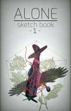 -ALONE- Sketch Book by Maku_Ruka