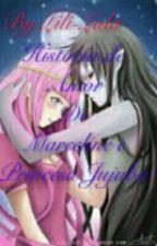 História de Amor de (Marceline e princesa Jujuba) by Lili-Lala