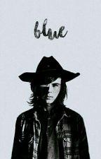 Blue. «Carl Grimes» EDITANDO by saeyux