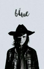Blue. «Carl Grimes» EDITANDO by -luuxx