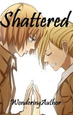 Shattered (Aruani Highschool AU - AOT/SNK) by WonderingAuthor