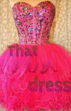 That pink dress by smartzeee