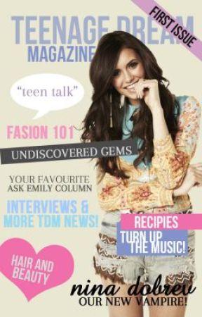 Teenage Dream Magazine Issue 1 August 2013 by TeenageDreamMagazine