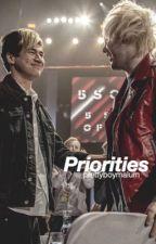 Priorities (malum au) by prettyboymalum