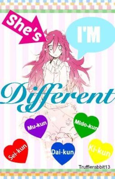 SHE'S/I'M DIFFERENT (Kuroko no basket fanfic)
