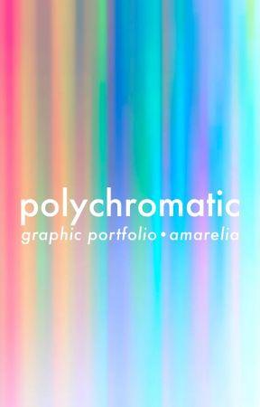 Polychromatic • Graphic Portfolio #Wattics2017 by Amarelia