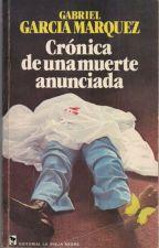 Crónica de una muerte anunciada (Resumen) by SandwichDeNutella