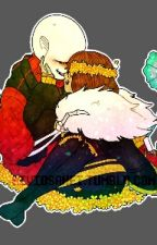 Please Stay With Me.... (Flowerfell Sans X Frisk TWO-SHOT) by PsycoticDJ925