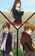 Ninja team five: siglos después de Naruto  by millaraypardo12
