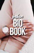 bio book by freshcon
