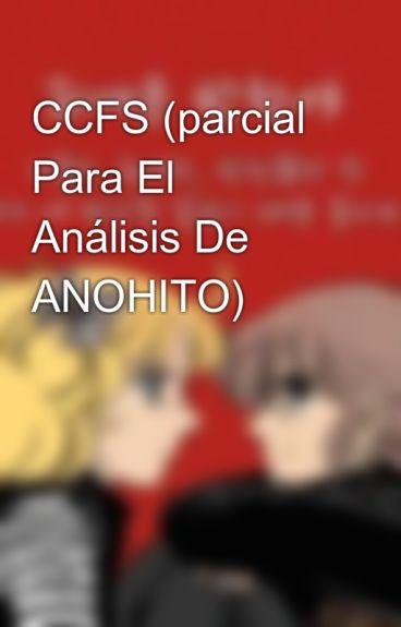 CCFS (parcial Para El Análisis De ANOHITO)