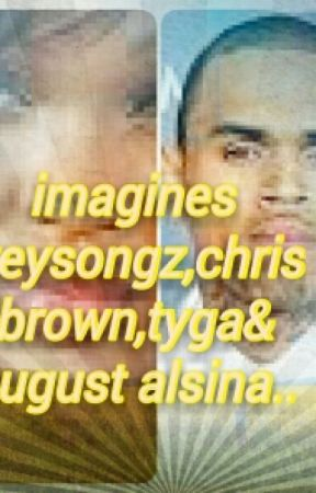 Imagines Treysongz Chris Brown And August Alsina Wedding