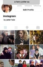 Instagram | Harry Potter AU by peterhaIe