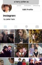 Instagram | Harry Potter AU by peterhaIe