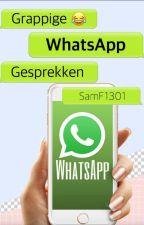 Grappige whatsapp gesprekken by SamF1301