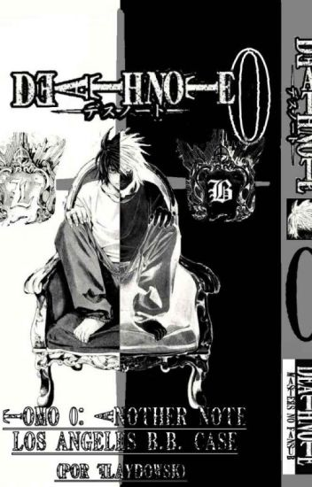 death note another note The los Angeles BB Murder case- prolog ...