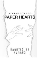 paper hearts ♡ by haunted-by-humans