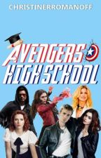 Avengers High School  by ChristineRRomanoff