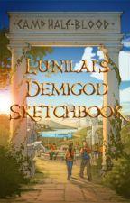 Demigod Sketchbook by lunilai